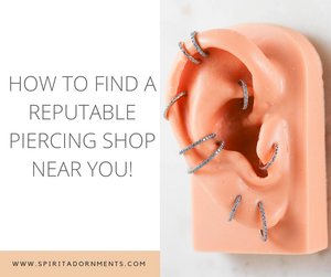 How to Find a Reputable Piercing Shop