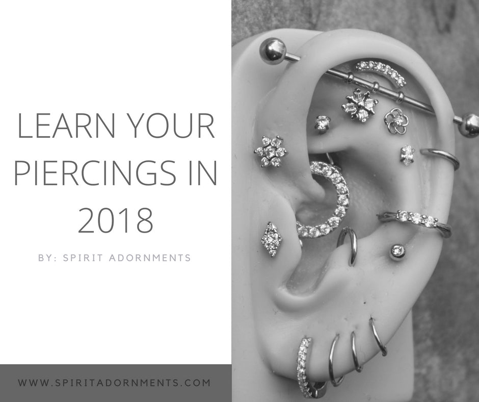 Learn Your Ear Piercings In 2018