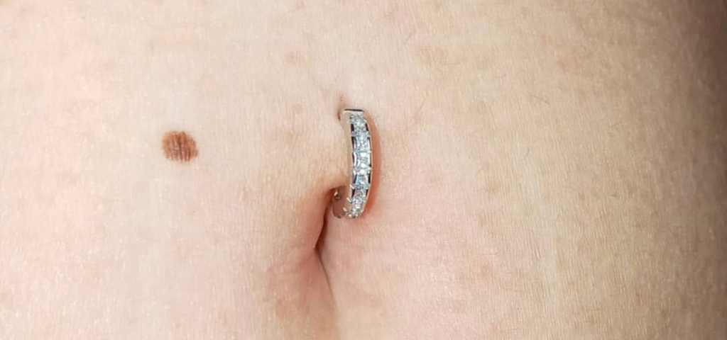 The Cutest Alternative to a Traditional Belly Ring