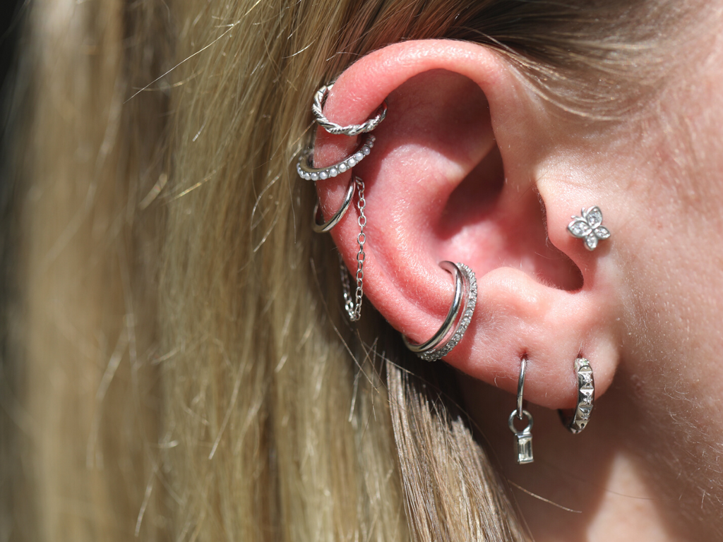 Conch Hoops for a Perfectly Styled Ear
