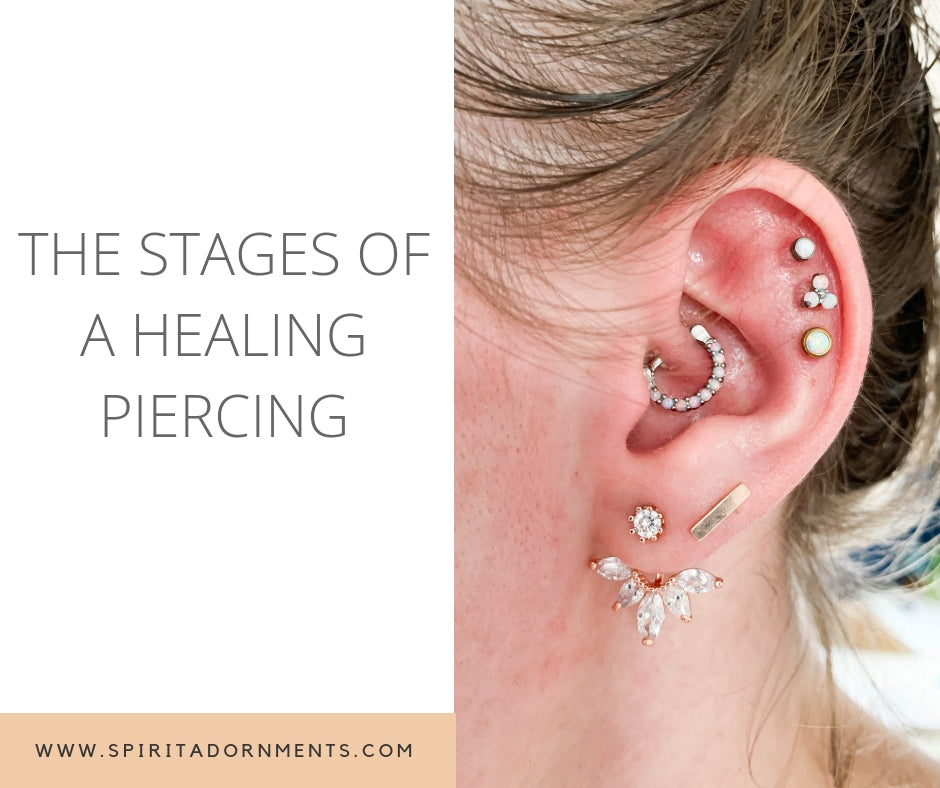 The Stages Of A Healing Piercing Spiritadornments