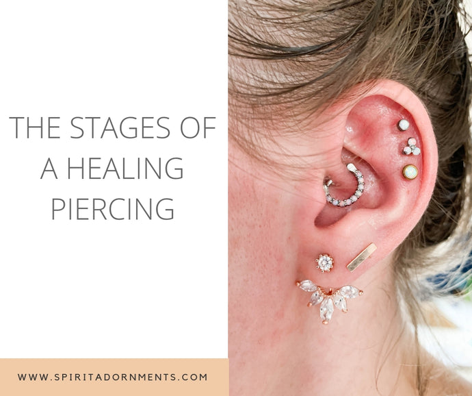 The Stages Of A Healing Piercing