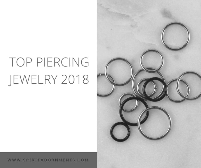 Top Piercing Jewelry from Spirit Adornments in 2018