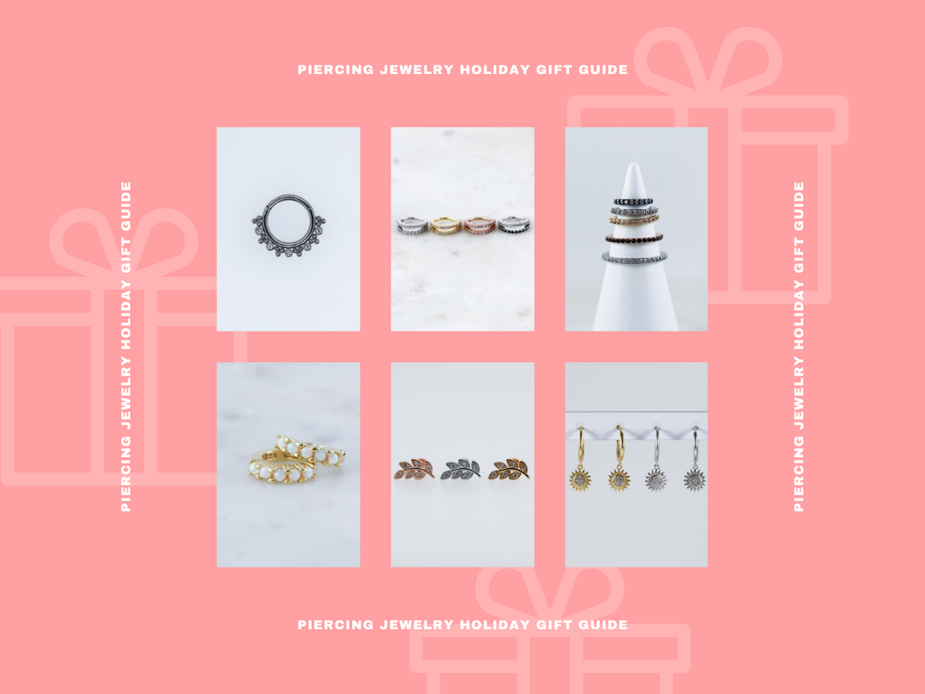 Piercing Jewelry Heartfelt Holiday Gift Guide!