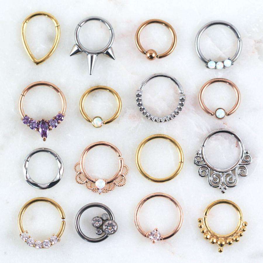Hoops | Captive Bead Rings | Horseshoes