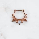 Astrid Clicker Septum Piercing Jewelry Daith Ring Septum Ring Chic Style Earrings Chic Piercings Trendy Chic Style Fashion 2020
