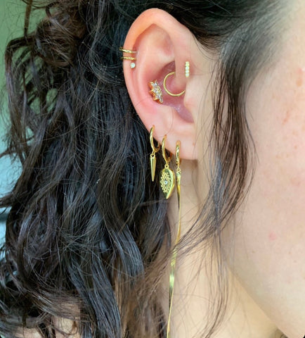 Fall 2020 Curated Ear Piercing Trends Fall 2020 Piercing Jewelry Fall 2020 Piercing ideas