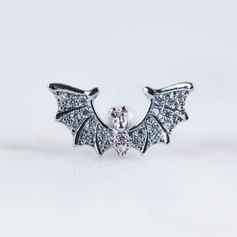 Bat barbell Halloween Piercing jewelry Bat Cartilage Earring Cartilage Stud Helix Piercing Jewelry