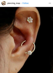 High Lobe Orbital Piercing