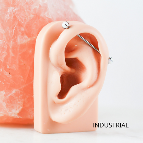 industrial piercing most popular ear piercings