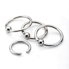 Captive Bead rings for piercings