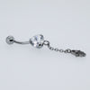 Hamsa Dangling Belly Ring