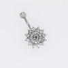 Dahlia Belly Ring Belly Button Ring Navel Piercing Jewelry