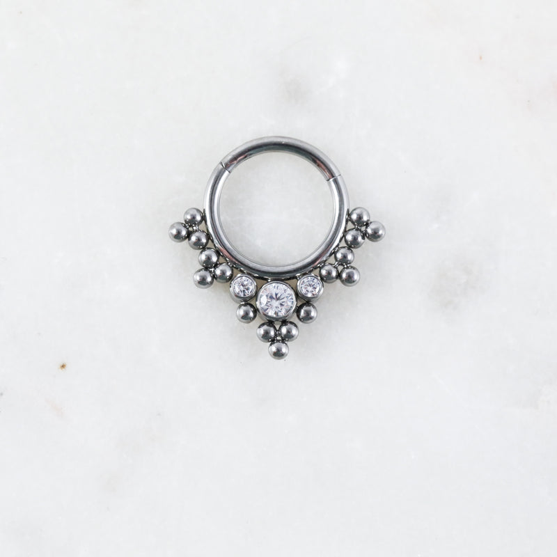 Alannah Hinged Seam Ring