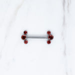 Implant Grade Titanium Nickel Free Nipple Barbells for Initial Piercings