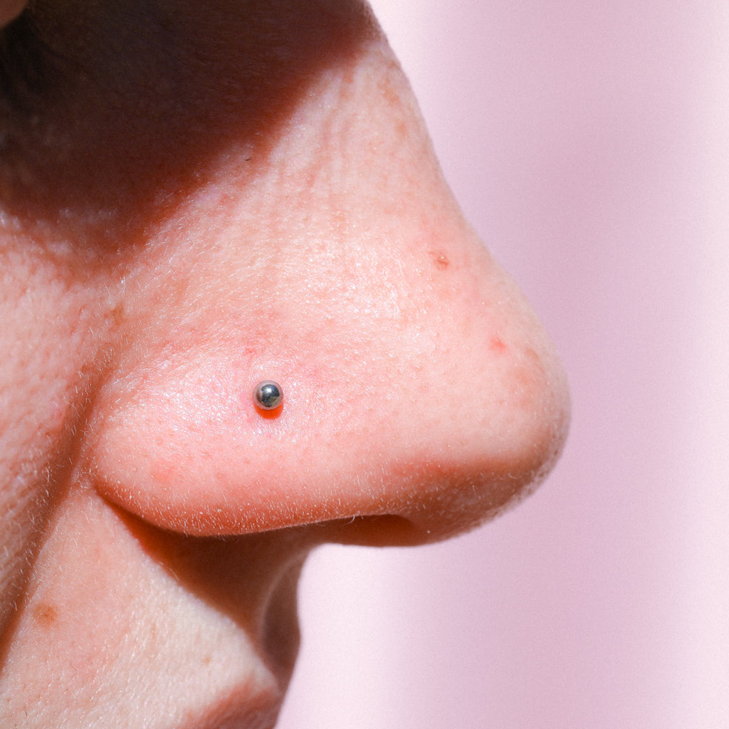 Tiny Ball Nose Ring