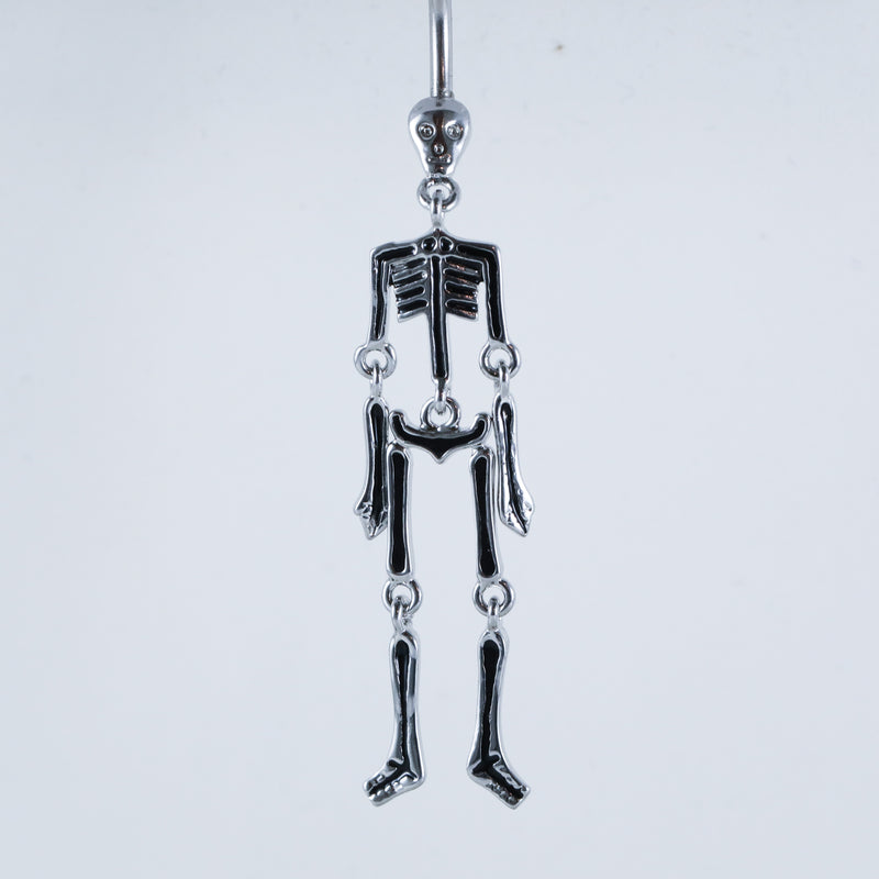 Skeleton Belly Ring
