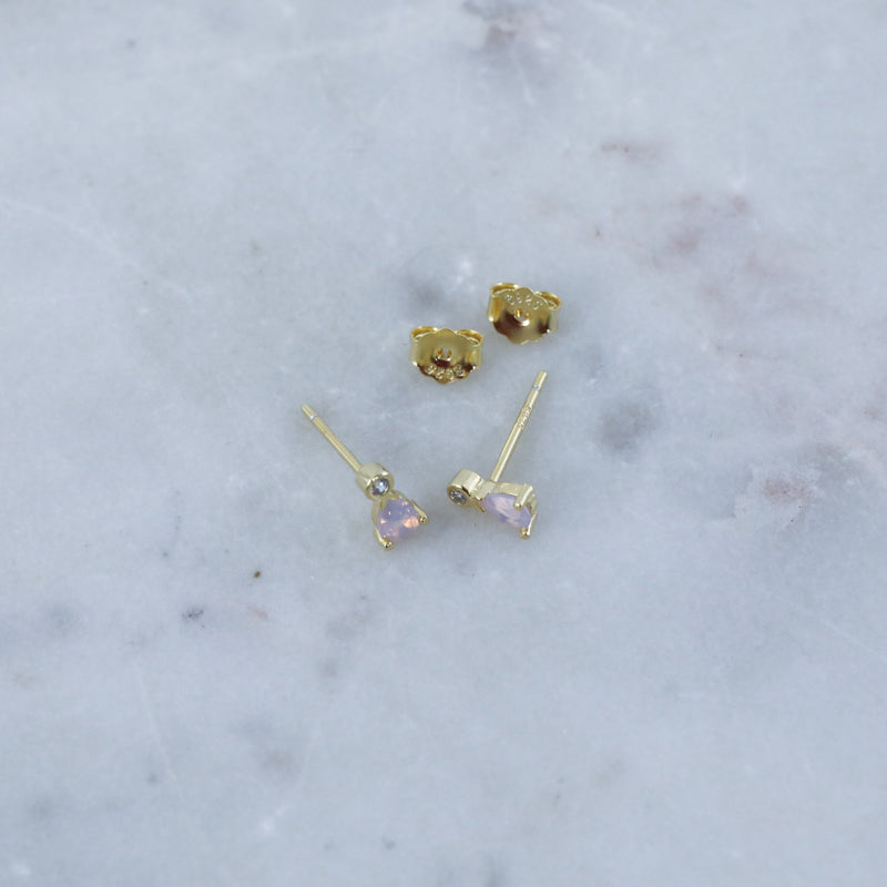 Mystic Duo Earrings Cute Hypoallergenic Stud Earrings from Spirit Adornments