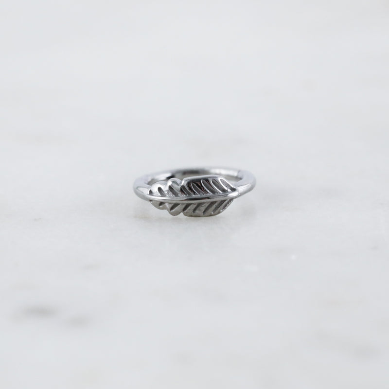 Feather Hinged Seam Ring