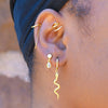 Ear Cuff with Chain