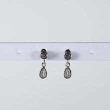 Crystal Drop Earrings (Pair)