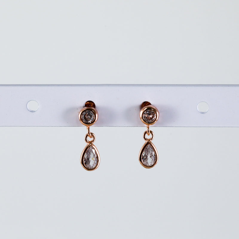 Crystal lDrop Earrings Cute Hypoallergenic Stud Earrings