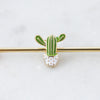 Cute Cactus Industrial Piercing Jewelry
