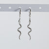 Snake Huggie Hoop Earrings (Pair)