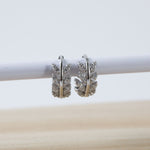 Vine Huggie Hoop Earrings (Pair)