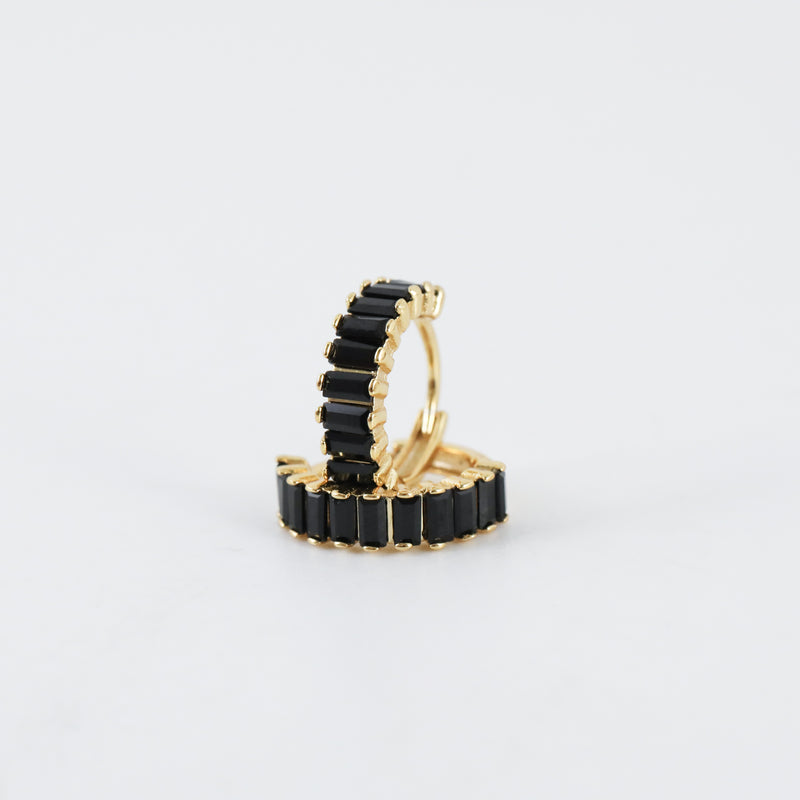 Nico Huggie Hoop Earrings (Pair)