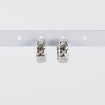 Aziza Huggie Hoop Earrings (Pair)