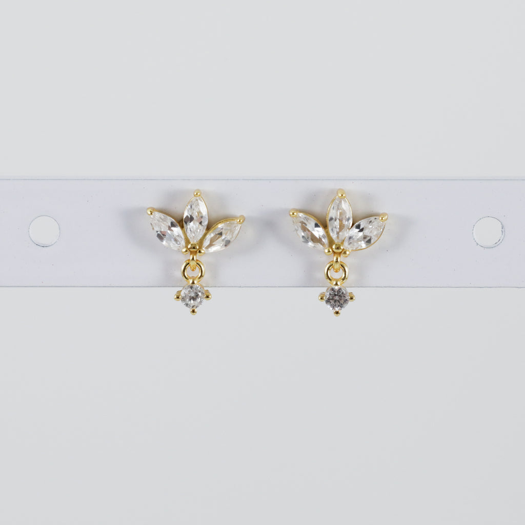 Reema Earrings Cute Hypoallergenic Stud Earrings from Spirit Adornments Jewlery