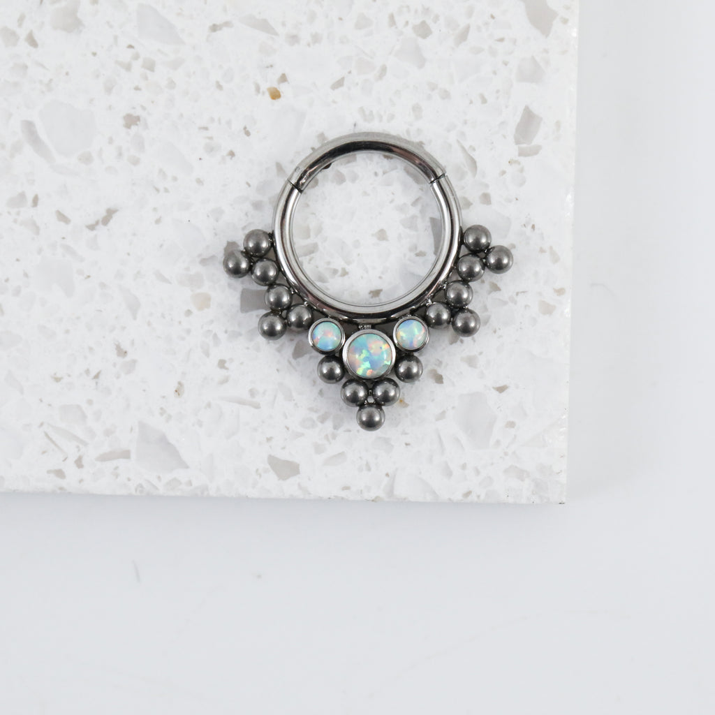Daniella Hinged Seam Ring