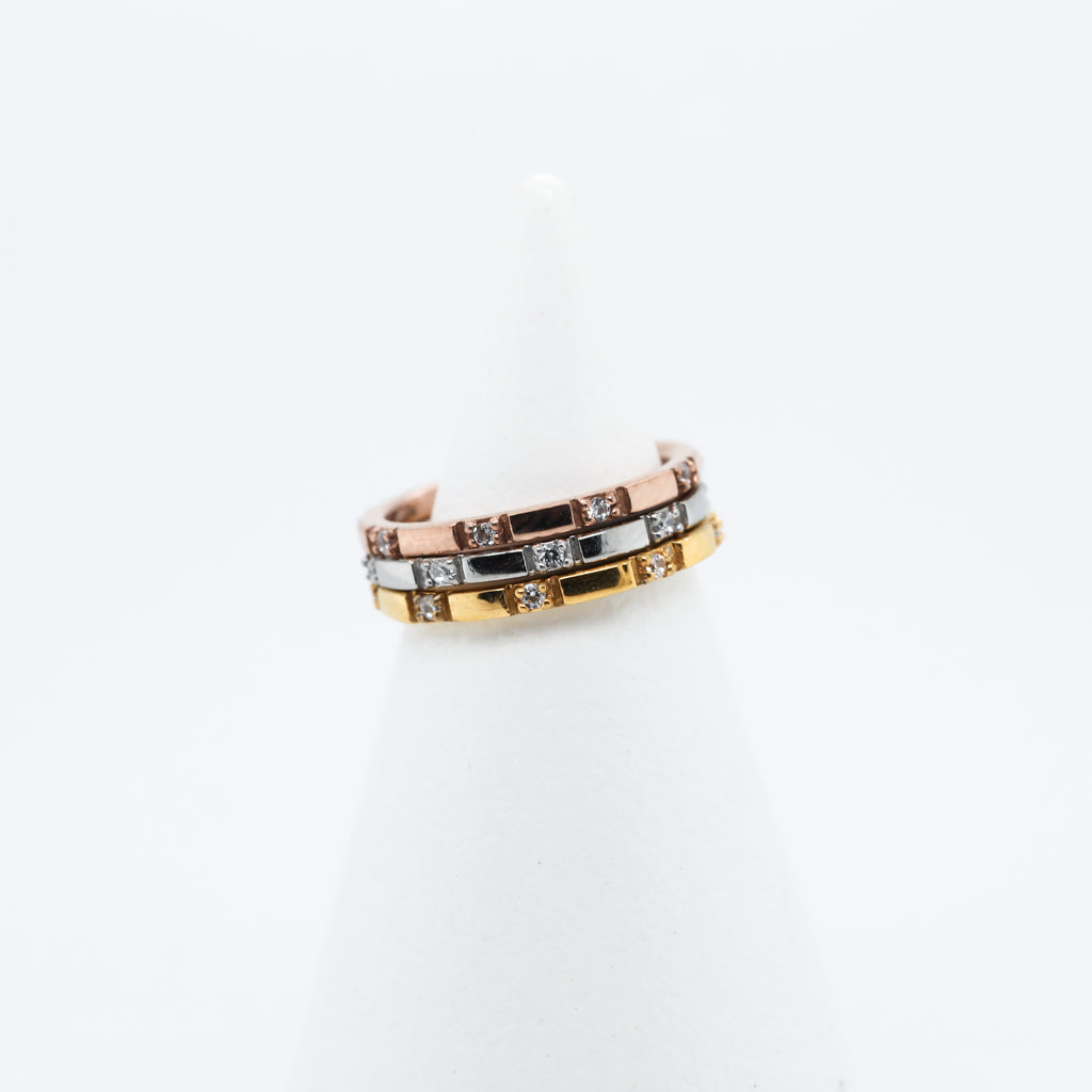 Eclipse Hinged Seam Ring Cute Conch Piercing Jewelry in Rose Gold, Gold, or Silver