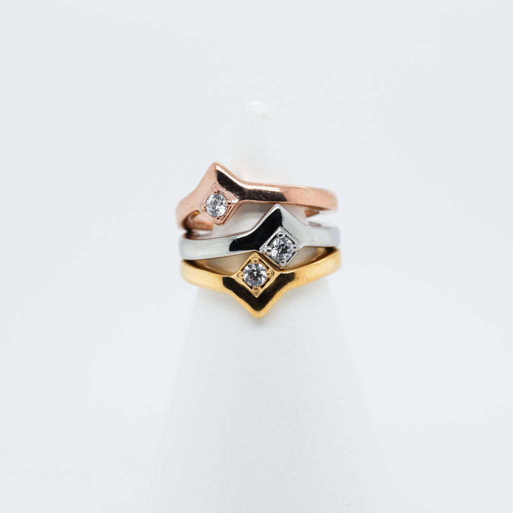 Tao Hinged Seam Ring Cute Conch Piercing Jewelry Conch Hoop in Rose Gold, Silver, and Gold