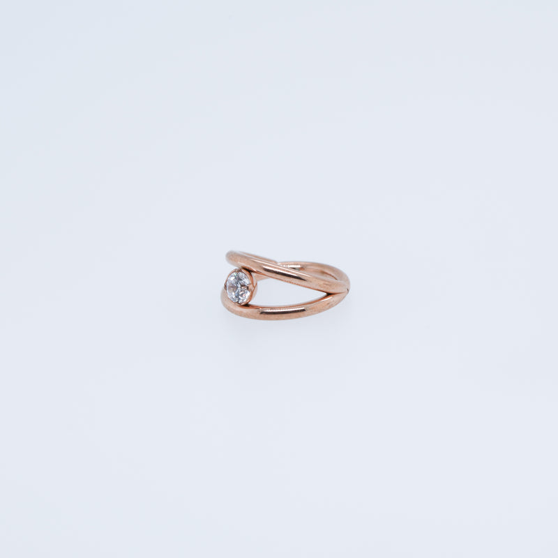 Tori Hinged Seam Ring