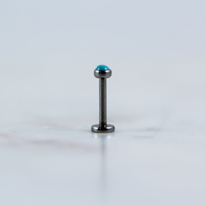 Turquoise Labret
