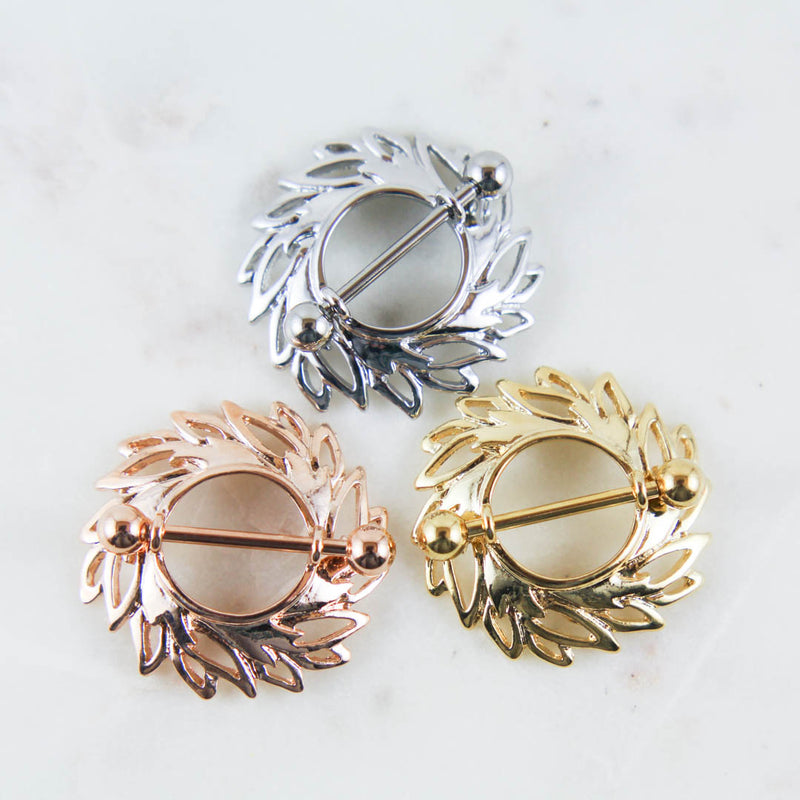 Wreath Nipple Ring