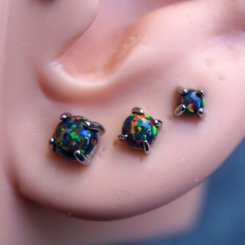 Opal Earrings (Pair)