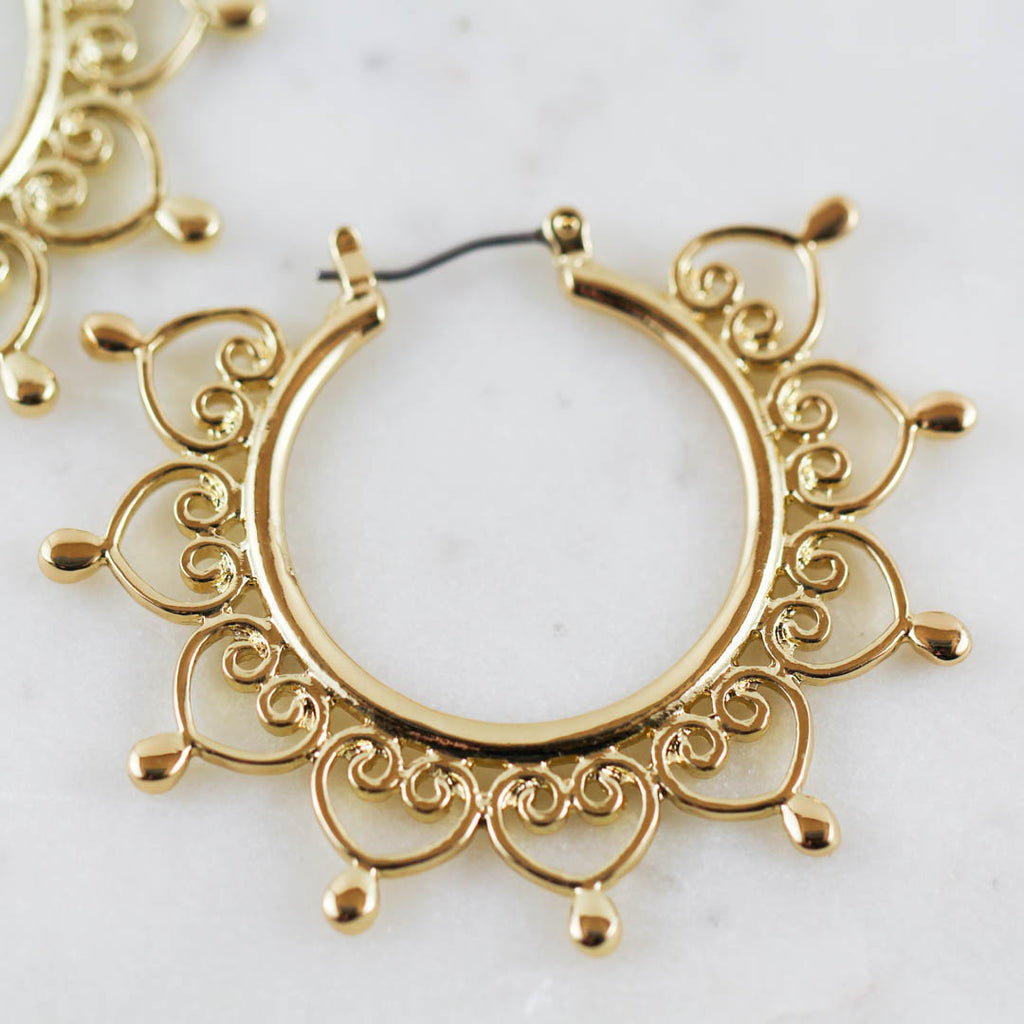 Nova Hoop Earrings (Pair)