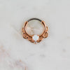 Opal Septum Piercing Jewelry Opal Daith Ring Opal Septum Ring Piercing Jewelry Rose Gold Opal Hoop Clicker Piercing Jewelry