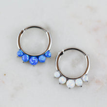 Opal Septum Piercing Jewelry Opal Daith Piercing Jewelry Opal Lobe Jewelry Opal Piercing Jewelry Opal Clicker