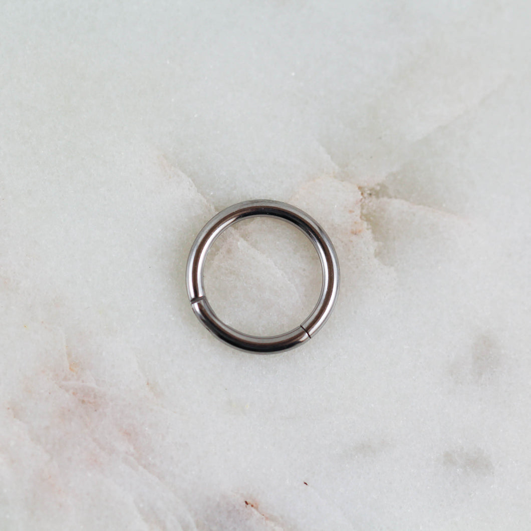 Plain Hinged Seam Ring