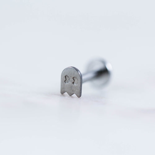 Pac Man Piercing Jewelry Pac man Jewelry Pac man Earring Pac man Labret