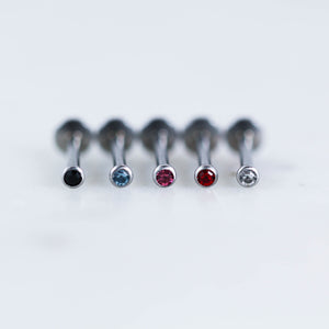colored gem labret cute tiny minimalist labret helix piercing jewelry crystal cartilage earring crystal piercing jewelry ;Labret piercing labret jewelry