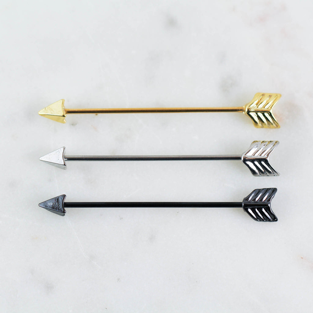 Arrow Industrial Piercing Jewelry
