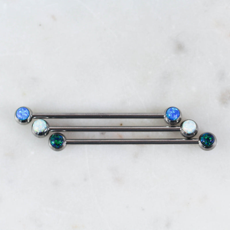 Opal Industrial Barbell