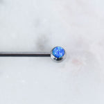 Opal Industrial Barbell Industrial Piercing Jewelry