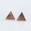 Triangle Earrings (Pair)