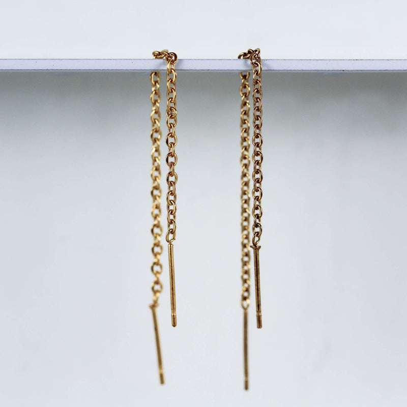 Classic Threader Earrings (Pair)